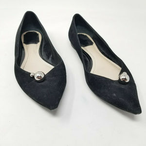 Christian Dior Pointed Toe Ballet Flats